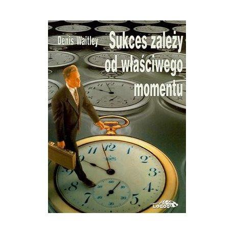 Sukces zależy od właściwego momentu - okładka przód