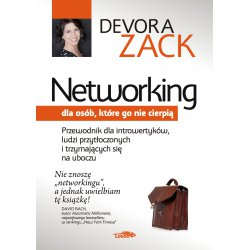 Networking dla osób, które go nie cierpią - okładka awers