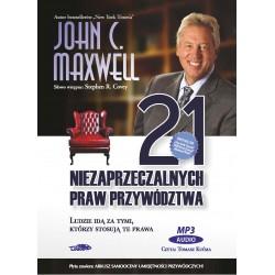 21 niezaprzeczalnych praw przywództwa - Audiobook [CD MP3] - box awers