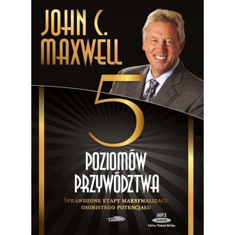 Pięć poziomów przywództwa - Audiobook [CD MP3] - box awers